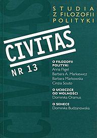 Okładka numeru 13 Civitas...